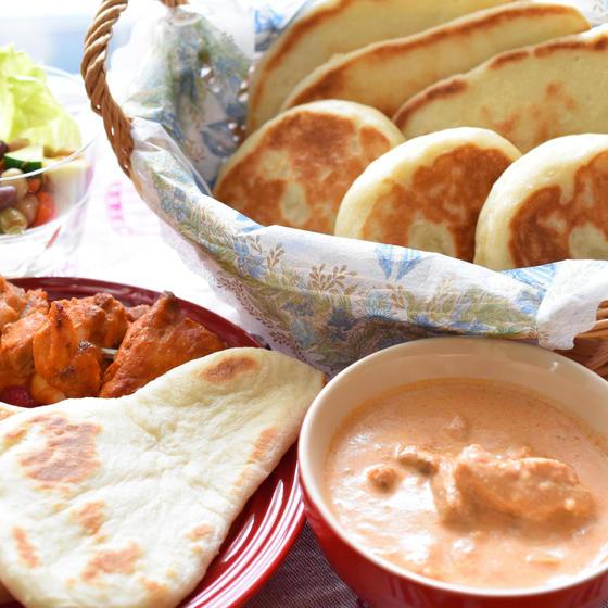 『手作りナン de インドカレーランチ』