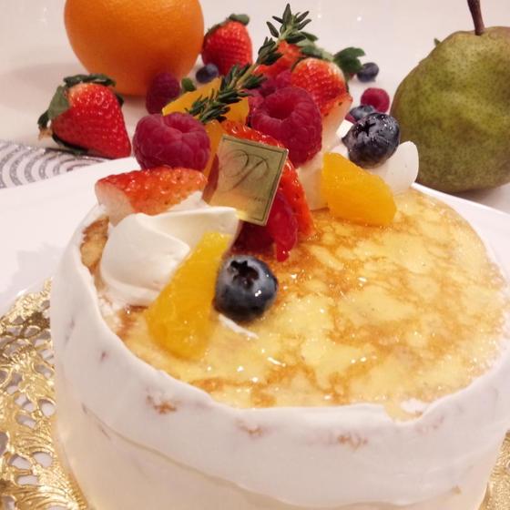 ミルクレープショートケーキ