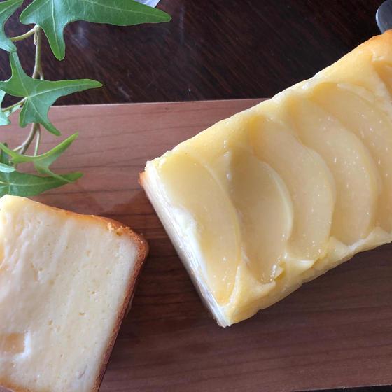 ワンボールレッスン!桃のチーズケーキ