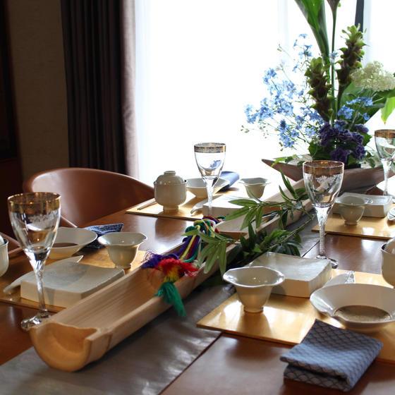 季節のテーブルコーディネート 全3回コース