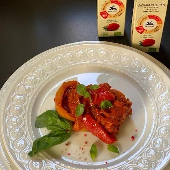 アルチェネロトマトピューレーお土産付き、イタリアン4品