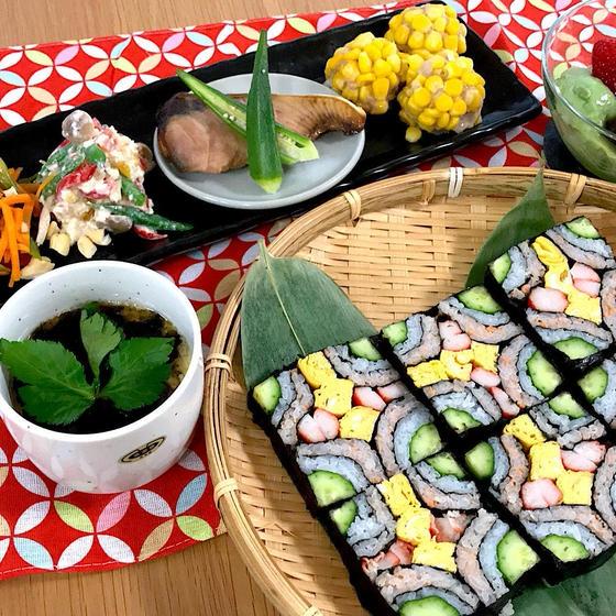 華やか飾り寿司☆自家製西京焼きに茶碗蒸しの和食レッスン