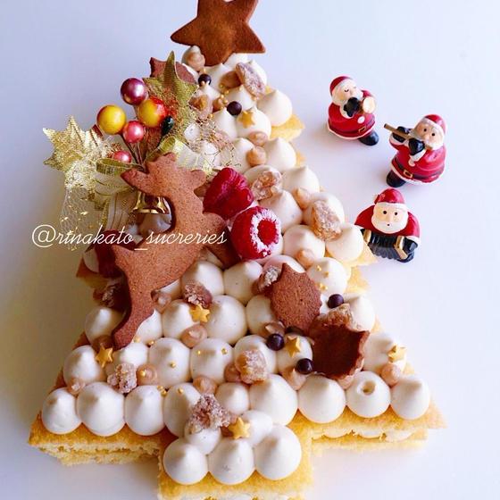 季節を感じる洋菓子ベーシックレッスン(クリスマスケーキ)