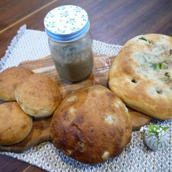 季節の自家培養酵母パン教室-有機たまねぎ-