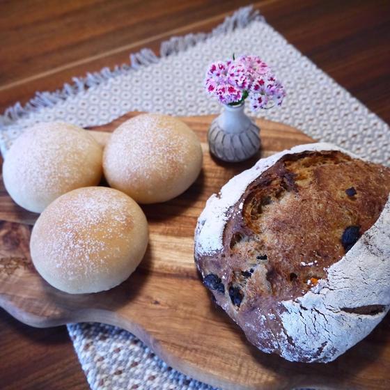 季節の自家培養酵母パン教室-ぶどう-