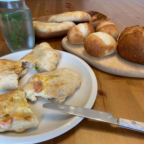 季節の自家培養酵母パン教室-ローズマリー酵母-