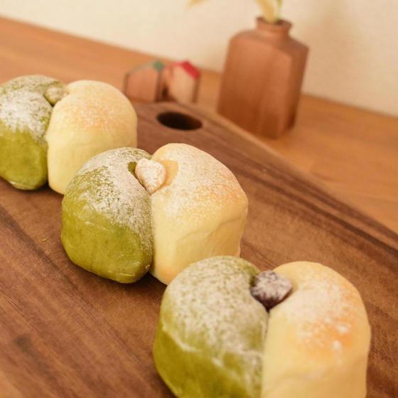 【中・上級】五色豆のおしりパン