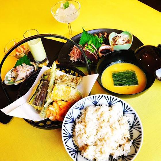 2018年9月 日本料理クラス 鮑と鰹をさばきましょう!