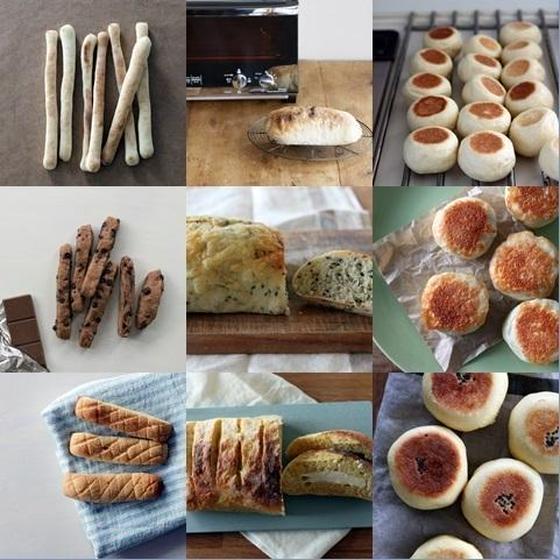子連れレッスンOK! おうちパン講座・基本の9種類
