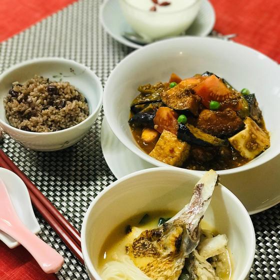 中国福建省の家庭料理🇨🇳魚頭湯