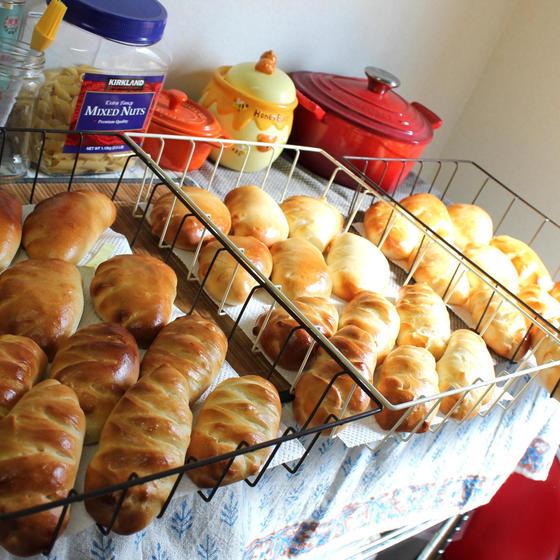 卵なし・角食パン&ハンバーガーバンズレッスン♪