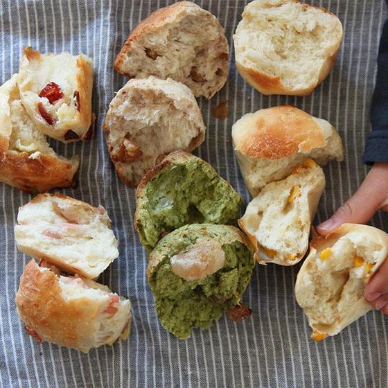 オンライン★簡単【週末おうちパン講座】週末の朝は焼き立てパン