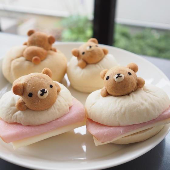 フィリング無しで作って、お好きな具材でサンドイッチも◎