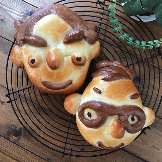 大好きな人をパンにしちゃおう!似顔絵パンレッスン
