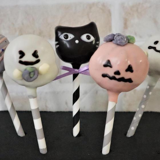ハロウィンのケーキポップスワンデイレッスン