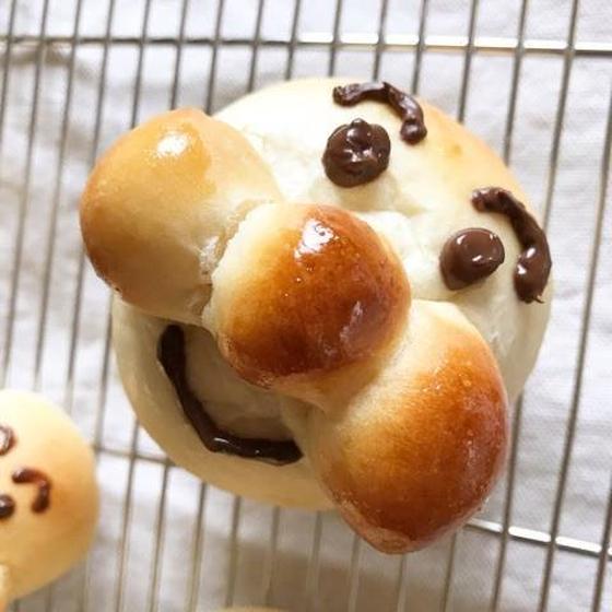 《おひさまパンの会》初めてのパン作り♪アンパンマンの会