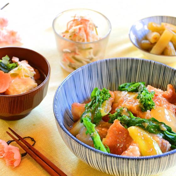 旬魚のこっくり煮&ふき煮、切干大根のサッパリ常備菜、全5品