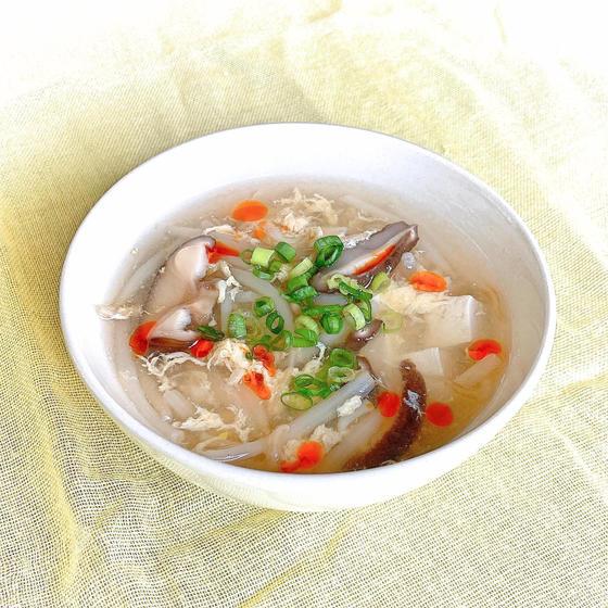 米酢の酸辣湯