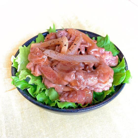 黒酢のコク旨さっぱり豚丼