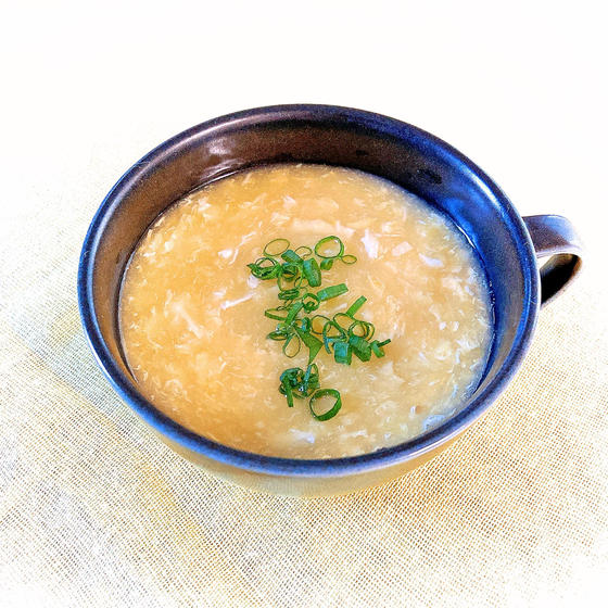 ふわとろ中華風コーンスープ