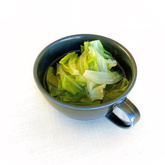 ビーフブロスの野菜スープ