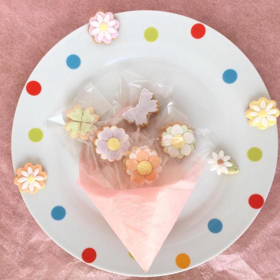 【グルテンフリー!】花束米粉クッキーポップスレッスン♪