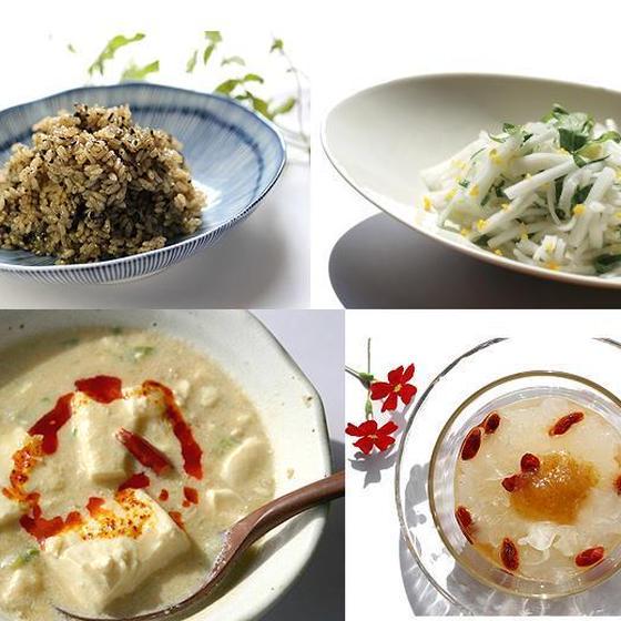 白キクラゲ・黒胡麻の使い方/今月の養生スープ