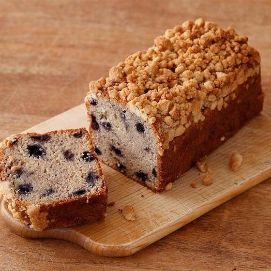 オーガニックブルーベリーパウンドケーキ作り♪♪