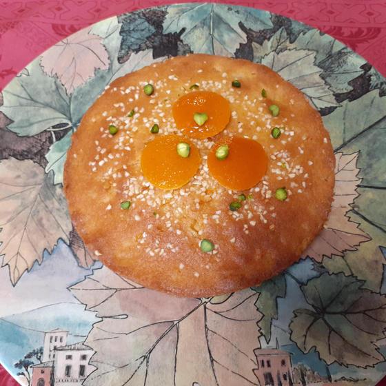 焼き菓子講座 オレンジケーキ