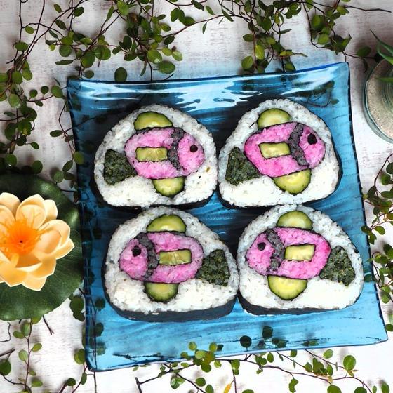 魚の巻き寿司