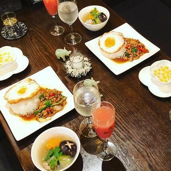 美味しい定番タイ料理ガパオライス