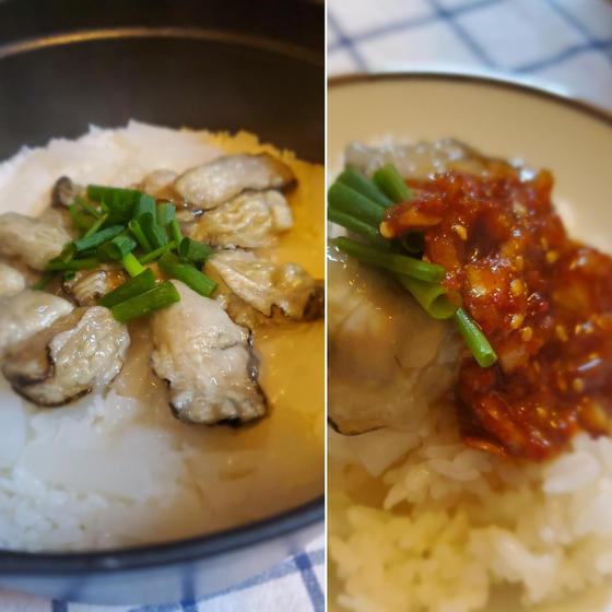 牡蠣の美味しい季節★韓国料理で牡蠣を頂きます