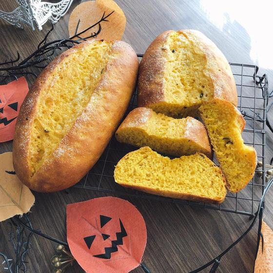 かぼちゃのシュガーバターパン☆