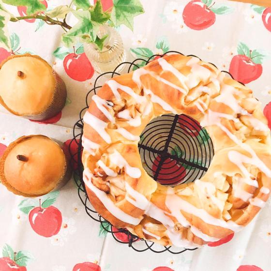 アップルリング&りんごパン☆☆