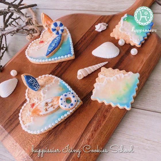 食べられる海の景色クッキー