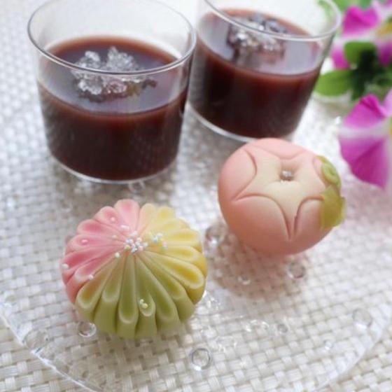 【6月】かわいい和菓子が作れるようになる♪和菓子レッスン