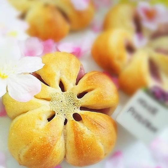 お楽しみレッスン♪桜餡パン🌸ロースイーツのご試食付き💖