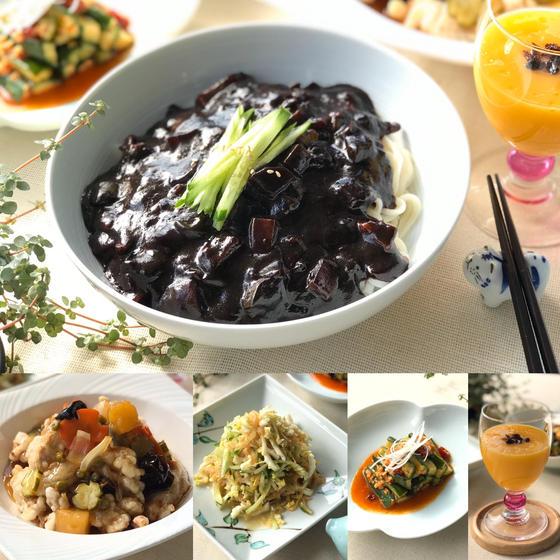 韓国の中華! ジャジャン麺、タンスユク、クラゲネンチ