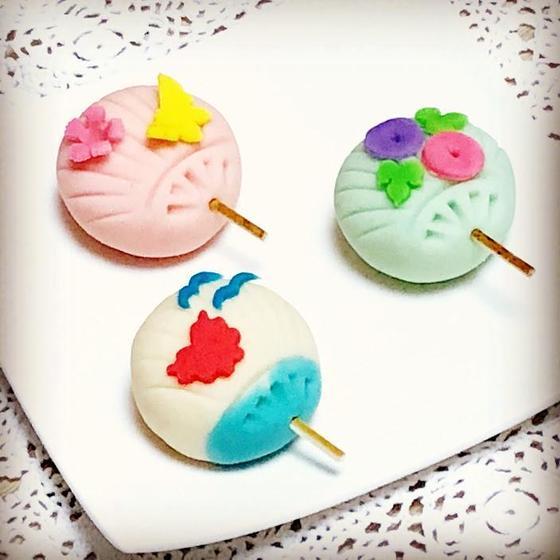 親子練り切りレッスン~和菓子でうちわを作ろう~