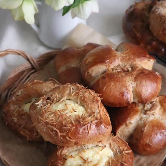 黒糖くるみパン 2種類
