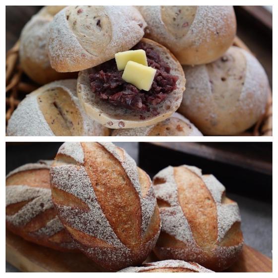 16穀米パンとヨーグルトライ