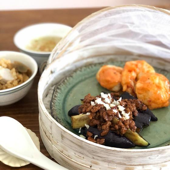 料理基礎A 中華料理 エビチリマヨネーズ✨麻婆茄子
