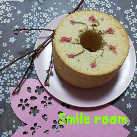 春限定♡桜シフォンケーキ