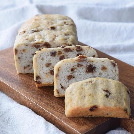 米粉パン講座(レーズン食パン)