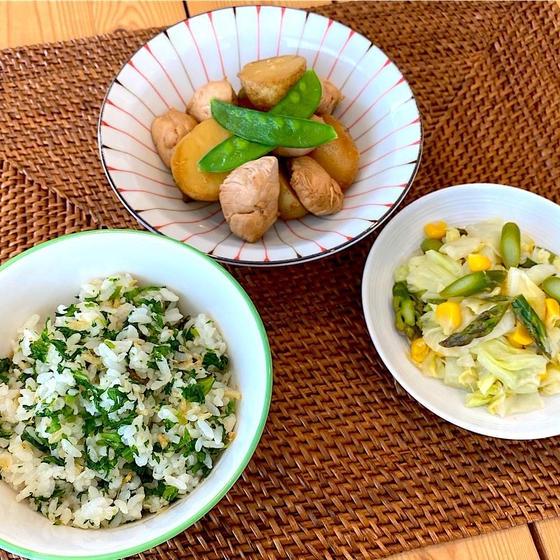 【小学生親子料理教室】カラダ喜ぶ春野菜たっぷりベジランチ