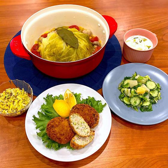 5月の旬野菜料理レッスン『春キャベツ』
