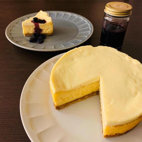 【ケーキ】ダブルチーズケーキ