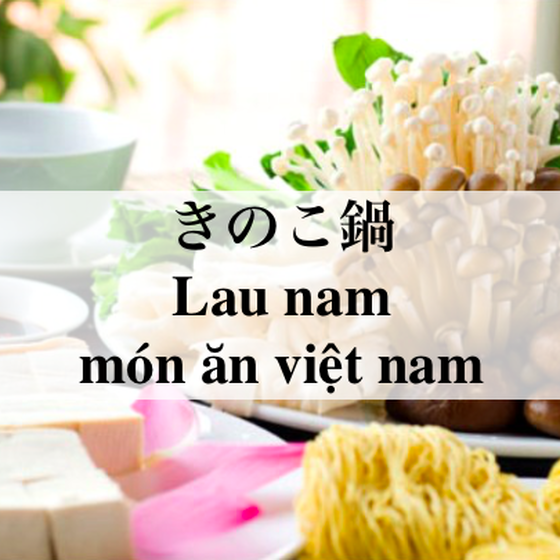ベトナムで大流行したきのこ鍋