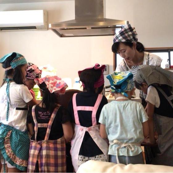 キッズクッキング6月 焼き餃子 甲子園口