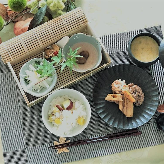 【動画】秋の季節の薬膳レッスン